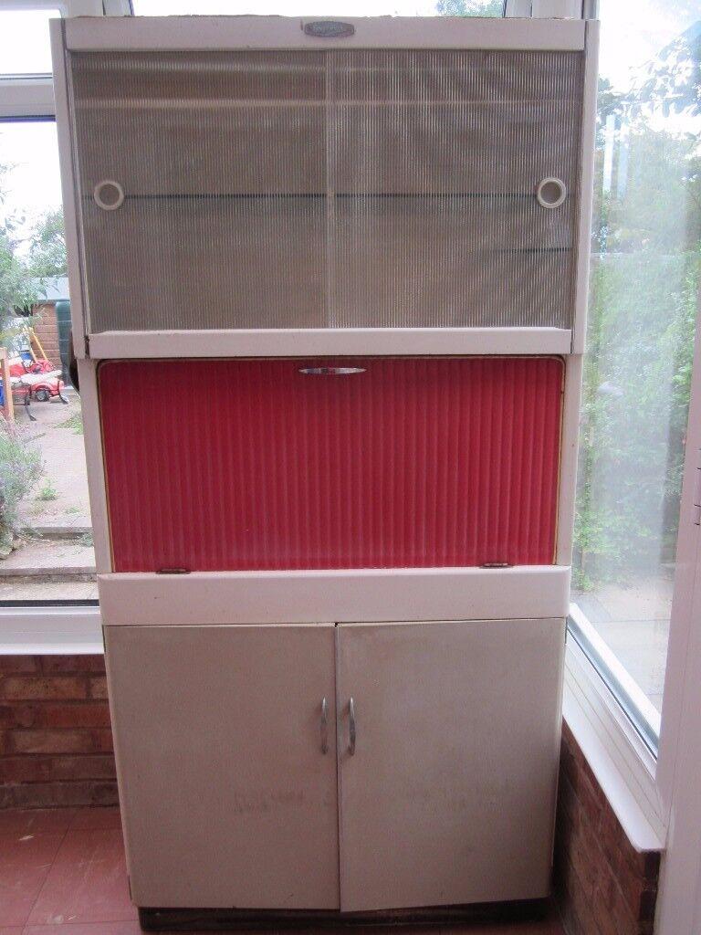 Original 1950s 1960s Eastham Vintage Retro Kitchen Cabinet