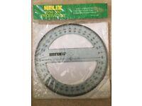 Helix 15cm 360 Protractor