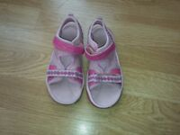 Clarks Doodles Sandals Size-UK-10.5-Kids