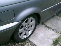 BMW ALLOYS SET 4,,still on the car,,(none running)