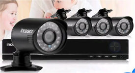 Complete 4 camera HD CCTV system - brand new in box