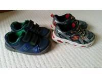 Boys shoes, size 8 & half