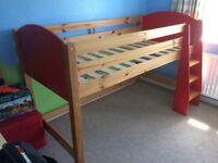 Stompa Mid sleeper cabin bed.