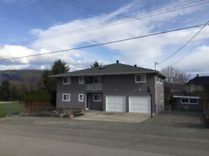 Fintry,BC 4 bedroom 2 bathroom house.