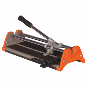 14-inch Manual Tile Cutter with 7/8-inch Cutting Wheel