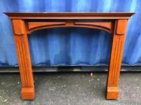 Solid wood fire surround FREE DELIVERY PLYMOUTH AREA