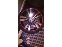 4 alloy wheels n tyres .18