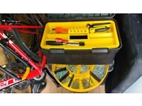 large wheely Stanley Tool Case and misc tools
