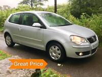 Volkswagen Polo 1.2 S 3dr (64ps) with FSH & 6 Months Warrany + AA Cover