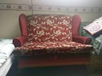 Ornate sofa