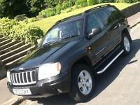 2004 JEEP GRAND CHEROKEE 2.7 LTD AUTO WITH FULL LEATHER