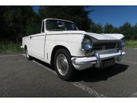 Classic Triumph Herald 13/60 Convertible.