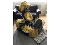 Cosatto Giggle Oaker 3 in 1 Buggy & Capsule RRP £650