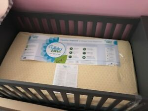NEW LullabyEarth Healthy Support 2 Stage Mattress