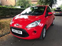 62 PLATE FORD KA EDGE RED / 26,000 MILES ONLY / STOP/START / EXCELLENT CONDITION