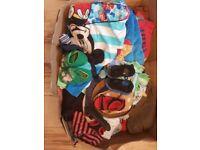 Big bundle of clothes