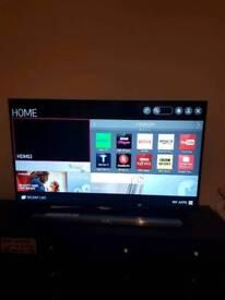 LG 49inch ultra hd smart tv (49ub820v) and LG sound bar/sub