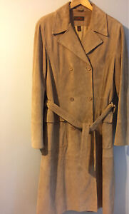 Danier Leather Suede Duster. Size large