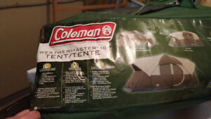 For SALE--Coleman Weathermaster 10 Tent with Fly