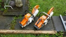 Stihl ts 400 cutter , concrete saw