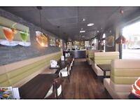 GREAT POTENTIAL FOR GROWTH - GOURMET RESTAURANT FOR SALE IN BEDFORD