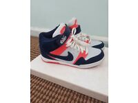 Nike colouful trainers