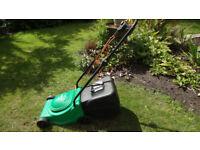 Electric lawnmower - good working order