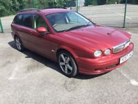 57 Plate X-Type Auto Estate 2.5 Classic, 6 Months MOT, Leather,Drives lovely