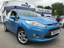 2012 Ford FIESTA ZETEC Manual Hatchback