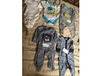 Children's clothing bundles priced on ad £2.00