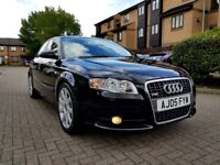 AUDI A4 2.0 T TURBO S LINE QUARTTO FULL LEATHER SEATS, FULL SERVICE HISTORY, DRIVE PERFECT