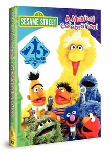 DVD - Sesame Street 25th Birthday -  'A Musical Celebration'
