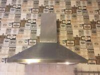 Chimney style cooker hood