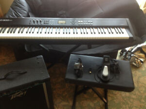 Roland RD 300NX , W/Gig Bag & Accessories and amp