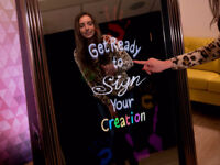 Amazing mirror photobooth service for all types of event