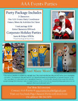 Character parties - Private and Corporate