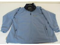 Ladies Light Blue Regatta Fleece with Navy Collar (Brand New)