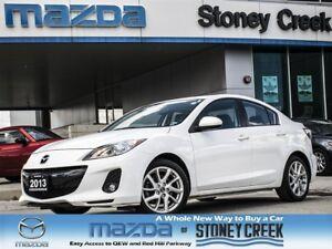 2013 Mazda MAZDA3 GT, BOSE, LEATHER, SUN, NAV, 1 OWNER, 0.65% FI
