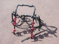 Fifth Gear Rear Mount Adjustable 3 Bicycle Carrier