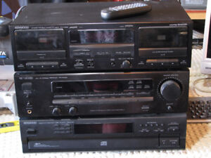 KENWOOD SOUND SYSTEM, GOOD CONDITION, ONLY $60 TAKES IT ALL!