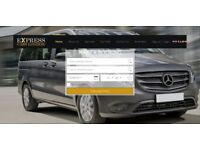 Taxi Website with online booking system - published on ExpressCarsLondon