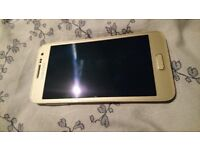 Samsung Galaxy A3 Champagne Gold in excellent condition.