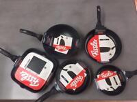 Set of 5 Fissler pans