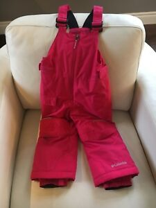 Like-new condition Columbia snow pants 3T
