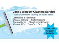 Traditional Liverpool window cleaning and gutter cleaning