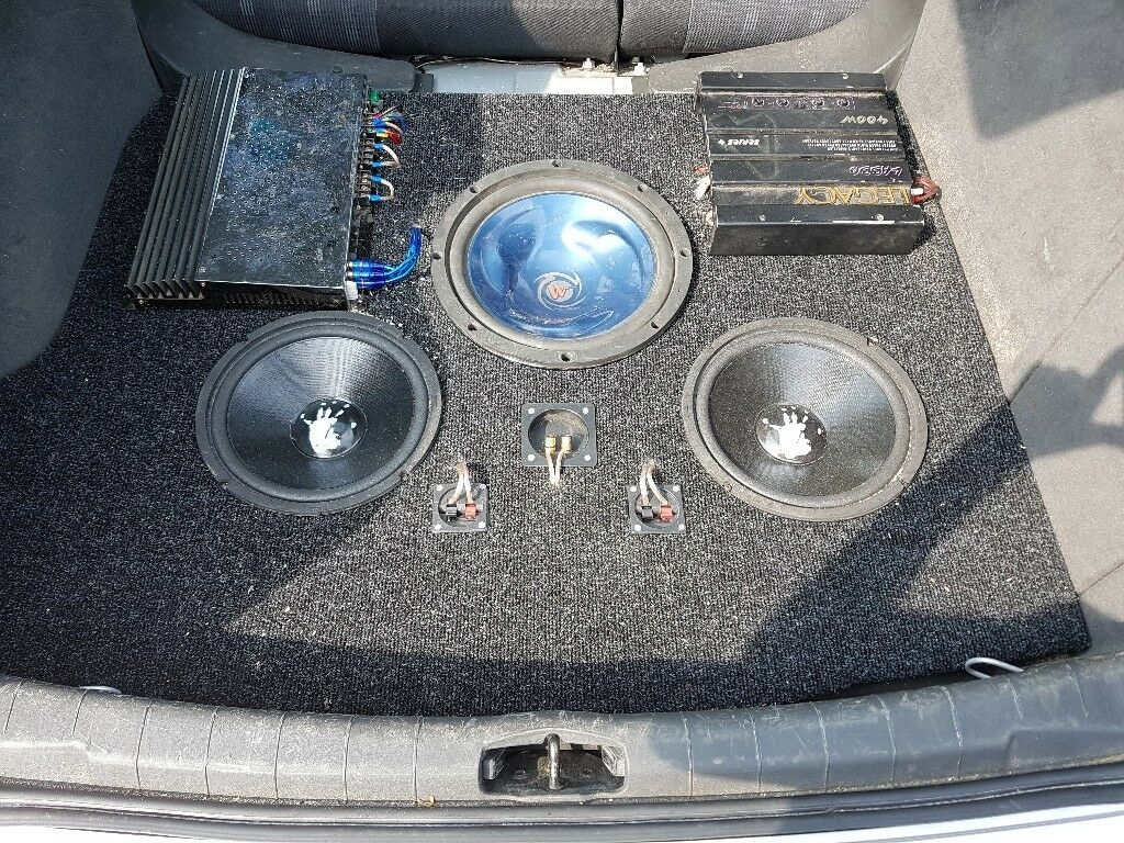 Vectra C Boot Install 2 Amps 3 Subs Vectra C Only Made To Fit