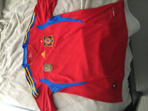 2012 Spain Euro Cup Jersey