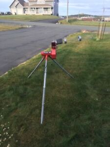 PITCHING MACHINE . First person to show up with $175 gets it .