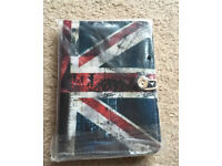 "7 inch Case Cover Book For 'Tablet - 7"" Union Jack Case"