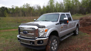 2014 Ford F-350 Silver Pickup Truck